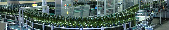 Maconnais bottling wine
